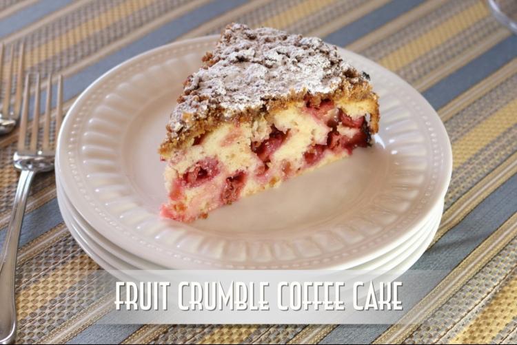 Crumble Cake Screen Shot YouTube Thumbnail