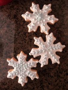 Snowflake Rolled Sugar Cookies