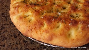 Focaccia bake in the Blackstone Patio/Pizza Oven