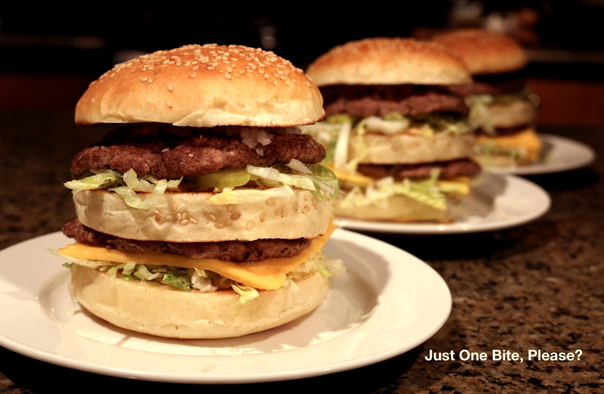 "Homemade ""Big Mac"" - Including the Special Sauce!"