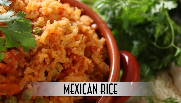 Mexican Rice YouTube Thumbnail