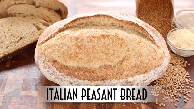 Italian Peasant Bread YouTube Thumbnail