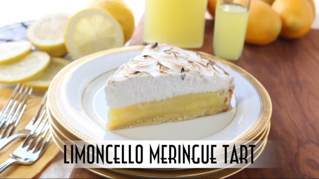Limoncello Meringue Tart YouTube Thumbnail
