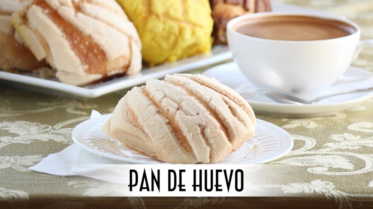 Pan De Huevo Mexican Sweet Morning Buns Just One Bite